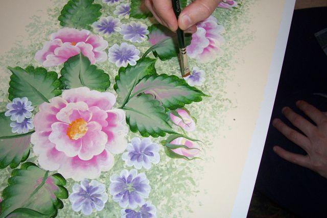 Уроки декоративной росписи