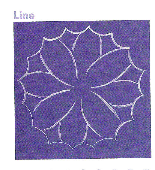 5. Beginner's guide to Lace painting by Patricia Rawlinson