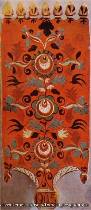 История шенкурской росписи