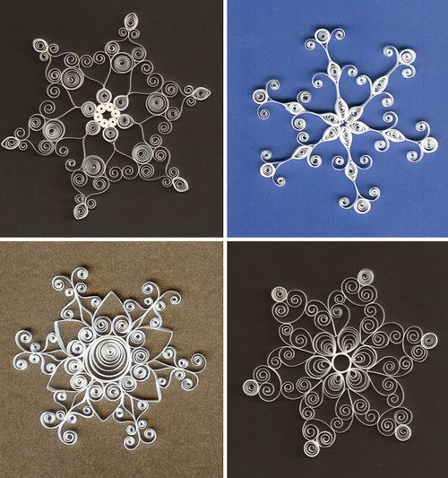 Quilled-Paper-Snowflakes