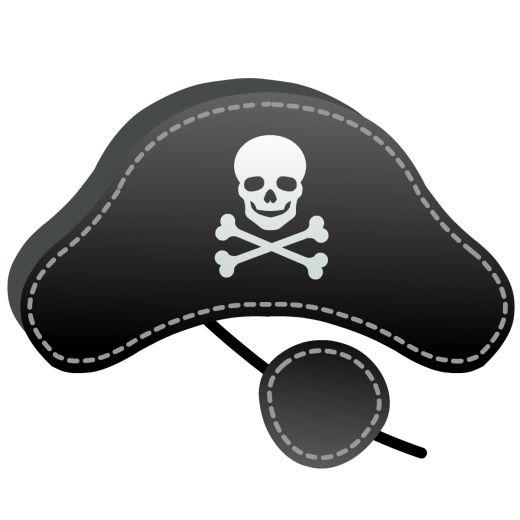 Маска пирата своими руками