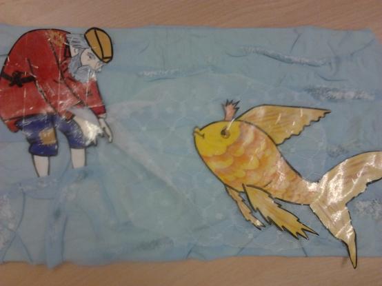 Поделки золотая рыбка на сказки ас пушкина